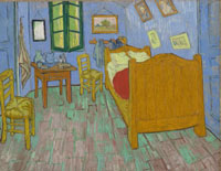"""Новость Ученые воссоздали изначальные цвета картины Винсента Ван Гога """"Спальня в Арле"""""""
