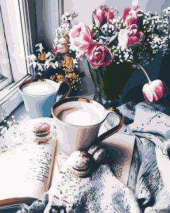 Новый день - Картина-раскраска