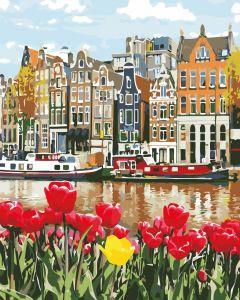 Нидерланды - Картина-раскраска