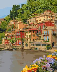 Картина по номерам - Набережна Італії