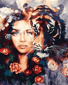 Картина по номерам Rainbow Art Глаза тигра
