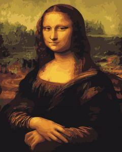 Мона Лиза - Набор для рисования без коробки