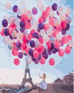 Париж в шарах. Без коробки