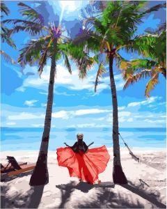 Солнце Филиппин - Картина раскраска без коробки
