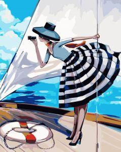 Прогулка на яхте. Без коробки