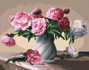 Квіти любові - Картина по номерам на холсте