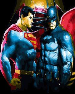 Супермэн и Бэтмэн. Без коробки