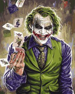 Джокер. Раскраска без коробки