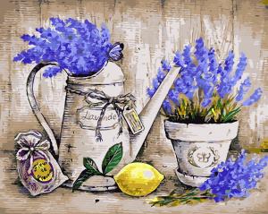 Краски Прованса - Картина по номерам на холсте