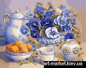 AS0018 Летний завтрак - Роспись по номерам фото