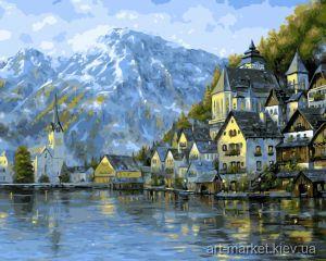 Прекрасная Австрия - Рисование по номерам