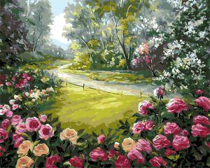 AS0157 Дорога домой - Раскраска по цифрам фото