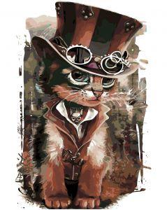 Кот-чародей - Картина по номерам