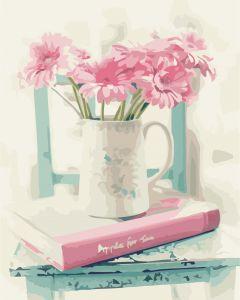 Цветочная романтика - Раскраска по номерам