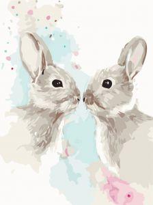 Цветные кролики. Без коробки