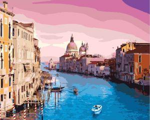 Утро в Венеции - Картина по номерам без коробки.