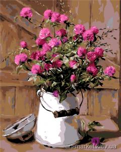 AS0002 Деревенский букет - Рисование по номерам фото