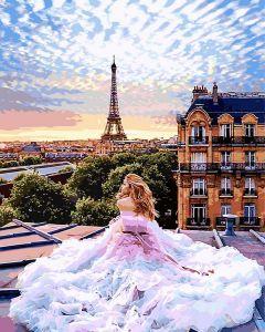 Парижские мечты - Рисование по номерам