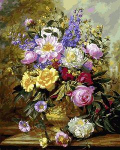 Букет белых и желтых роз