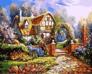 Сказочный сад - Картина по номерам