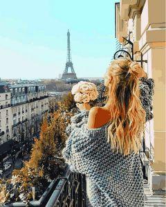 Парижский балкон - Картина по номерам