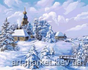 Середина Зимы - Раскраска по цифрам