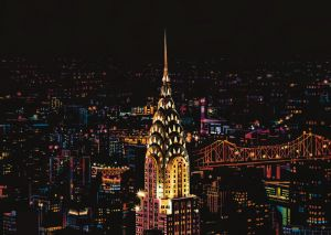 "Цветная скретч-картина ""New York"" (Нью-Йорк)"
