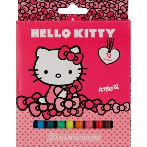 Фломастеры Hello Kitty, 12 цветов HK17-047