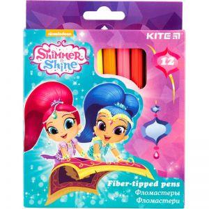 Фломастеры Shimmer&Shine, 12 цветов SH18-047
