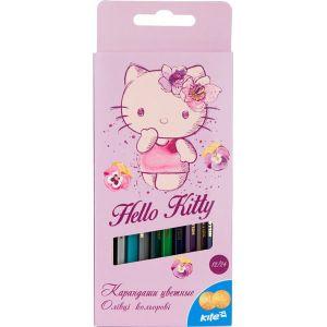 Карандаши цветные двусторонние Hello Kitty, 12 шт. / 24 цвета HK16-054