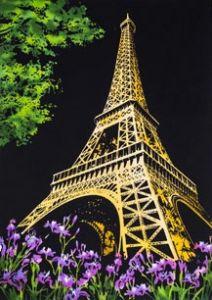 "Скретч-картина ""Paris"" (Париж)"