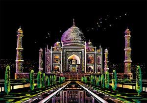 Скретч-набор Taj Mahal (Тадж Махал)