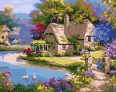 Уютный уголок - Картина раскраска