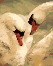 Лебединая верность - Набор для рисования