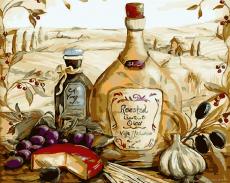 Итальянский колорит - Картина-раскраска