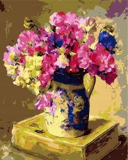 Цветочная история - Картина по цифрам
