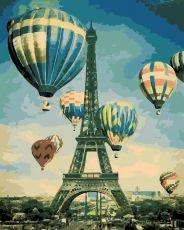 Воздушные шары над Парижем