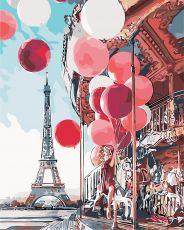 Французская карусель - Рисование по номерам
