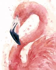 Фламинго - Картина по номерам