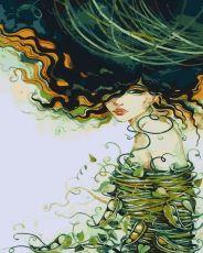 Девушка-лето - Раскраска по номерам