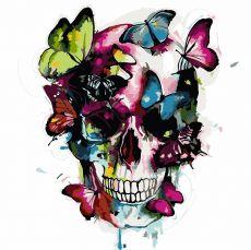 Цветной череп. Без коробки