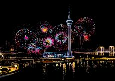 "Скретч-набор из 4-х картин ""Fireworks"""