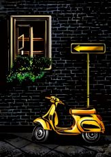"Скретч-набор из 4-х картин ""Street Cornor"""