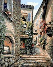 Итальянская улочка - Роспись по номерам