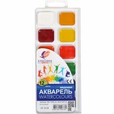Акварель «Классика» 12 цветов «Луч» 18,5x8 см