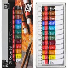Краски 12 мл «Art Nation» 12 цветов «Oil» S-7124