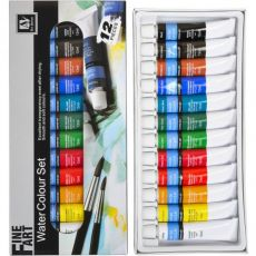 Краски 12 мл «Art Nation» 12 цветов «Water» S-7121