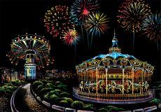 Скретч-набор Amusement Park (Парк Развлечений)