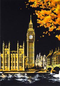 Скретч-картина London (Лондон в цвете)