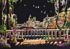 Скретч-картина Venice (Венеция в цвете)